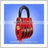 crane pulley block ,four-wheel