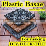 Lowes Outdoor Deck Tiles with DIY Plastic Tile Base