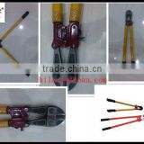 rubber handle with wood insulated shear