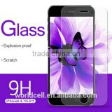 for iPhone 6 Clear Tempered Glass Screen Protector with Japanese Glass and Glue