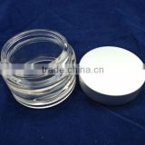 high white material 30ml cosmetic face cream jar
