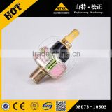 08073-10505 oil pressure SWITCH for bulldozer parts D85A-21