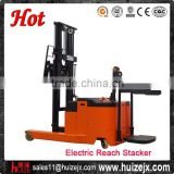 10 Years Factory Experienced 1Ton 3000mm 4500mm Electric Reach Truck Stacker in Forklift
