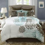 queen size bedspreads brushed printed fabric bedding set