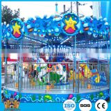 Beautiful Merry Go Round Carousel for Sale/Amusement Park Ocean Rides/Electric Rides on Animal