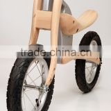 Wooden run bicycle