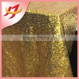 Gold champagne sequin table cloth for wedding/ivory sequin tablecloths