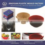 China OEM custom high quality melamine food bowl mould manufacturer / maker / supplier / factopry /Seller