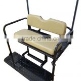 Rear Golf Cart High Qulity Flip-Flop Tan Seat Kit for G14-G22 4 Person Golf Cart
