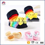 Lovely Baby Slippers Animal Design Cartoon Newborn Infant Boys Girls Kids Cute Anti-slip Warm Cotton Socks