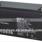 long life agm solar storage battery full of power and low discharge , 12v 4ah/12ah lead acid battery for UPS/car/home use