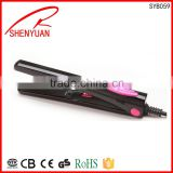 Electric Best hair accessories PTC heat element Hot hair style export to korea japan usa Europe pro hair straightener