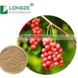 Nice Nutritonal Herbal Extract Schisandra Chinensis /five flavor berry with Schizandrins 2-9% HPLC