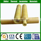 high quality insulation pipeline project used basalt rock wool pipe