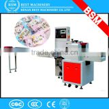 Multifunctional Wrapping Automatic chocolate, candy, wet wipe, soap Horizontal Flow Packing Machine