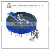 High performance coal thickener machine for coal, metallurgy and chemical industries for sale
