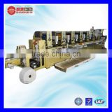 CH-300 China manufacture 4-8 colour waterproof scratch off label intermittent printing machine