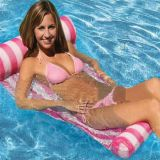 Inflatable Water Hammock Lounger Swimming Pool Float