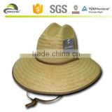 Paper Straw Lifeguard Cowboy Hat Hats One Size Mens Womens Beach