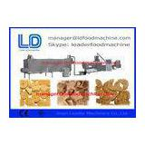 Textured vegetarian soy nuggets protein processing line  / soya bean extrude machine