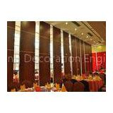 Demountable Partition Acoustic Wooden Plywood Partition Wall Wooden Surface