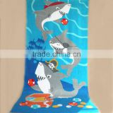 Alibaba supplier organic cotton beach towels wholesales round beach towels