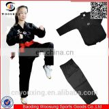 Wholesale martial arts supplies taekwondo dan dobok