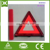 Factory made safety high visibility traffic security warn triangle
