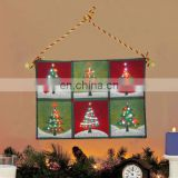 Light up home decoration christmas tree wall tapestry