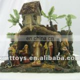 resin nativity sets for commemoration