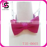 Wholesale men's high quality decoration custom bow tie