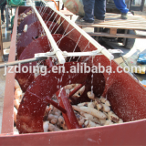 cassava peeler for cassava flour production