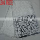 2015 wholesale cotton lace/ african lace fabric/ guipure lace/ lace material/ heavy lace