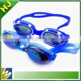 Hot sale water sports silicone best swim goggle