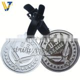 2013 Hot Sale crewed sliver whole sale metal tags with engraving