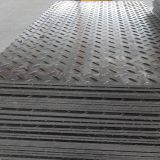 pe material track mats used 4x8ft ground protection mats