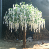china supplier manufacture artificial wisteria trees