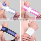 Sports elastic breathable anti-sprain wrist support bracer bandage