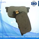 D835 disc brake pad for BYD auto car, semi metallic material,good wear rate,competitive price