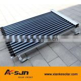 SRCC and Solar Keymark Heat pipe vacuum tube pressurized solar collector