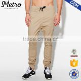 Custom chino jogger pants man elastic waistband sweatpants                                                                         Quality Choice