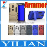 For Motorola Moto X play/Force PC+TPU 2 in 1 Dual Combo Shield Case Armor Case Hybrid For Moto G3/G2 /G Kickstand Cover Case
