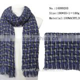fashion ladies scarfs 2015 winter warm acrylic knitted long scarfs office lady scarves