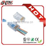 rj 45 crystal plug TF-1013C and TF-1013S connector rj11 rj45 plug                                                                         Quality Choice