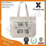 Wholesale fashion top shopping cotton canvas bags                                                                         Quality Choice