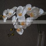 GIGA white orchid artificial flowers latex                                                                         Quality Choice