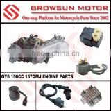 GY6 150CC 157QMJ ENGINE PARTS, CDI, REGULATOR, FLASHER