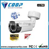 IR Bullet CCTV Camera 1080P HD TVI Camera IP66 IR 30m cctv camera system for small shops