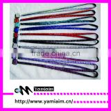 Yiwu Cheapset Manufacture breakaway lanyard and detachable lanyards With custom pattern design logo