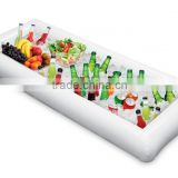 Inflatable Serving Bar Buffet Salad Ice Cooler Outdoor Picnic Camping Party Yard